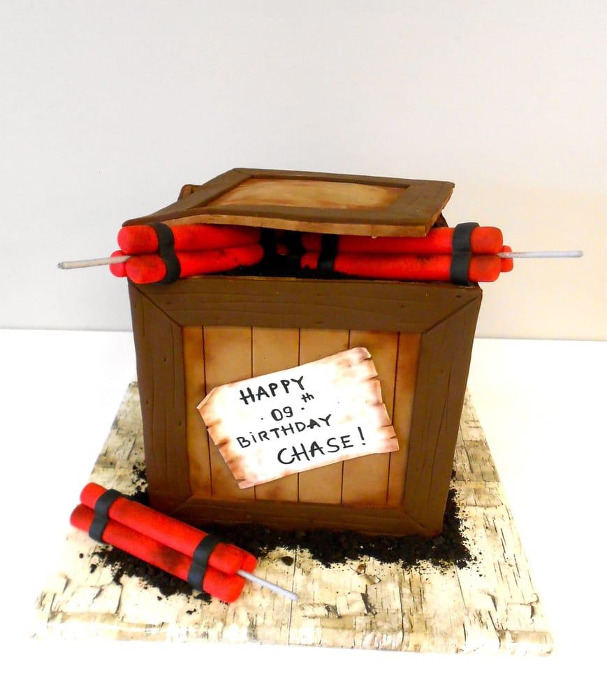 TNT dynamite birthday cake Yelp