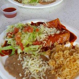 Photo Of El Patio   Woodland, CA, United States. Enchilada Combo