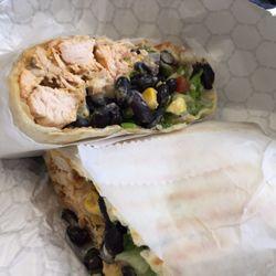 Photo of Greensboro Cafe - McLean, VA, United States. Tex Mex Wrap