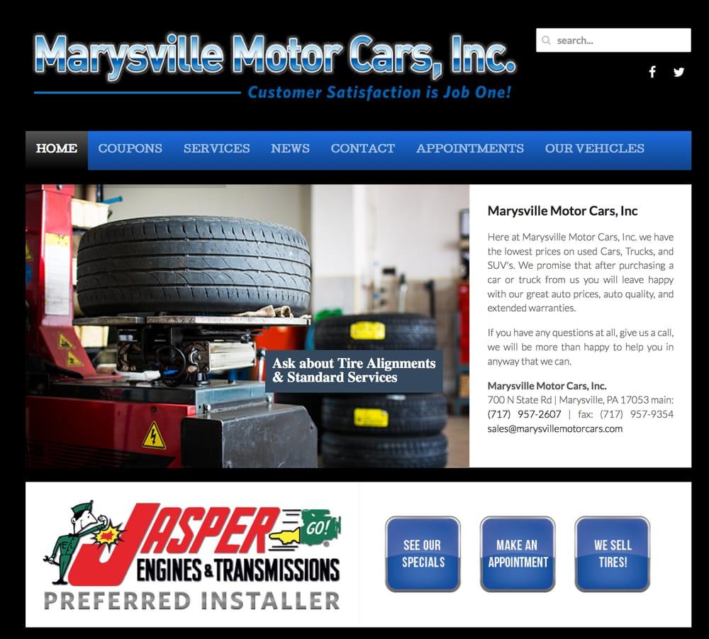 Marysville Motor Cars: 700 N State Rd, Marysville, PA