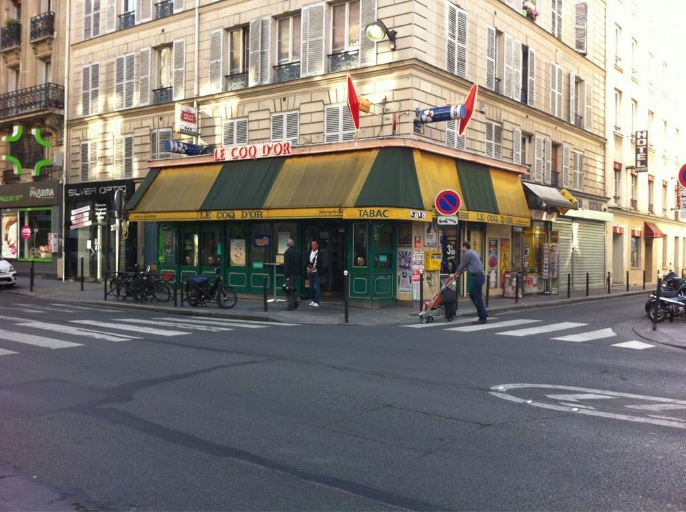 Restaurant Faubourd Saint Martin Paris