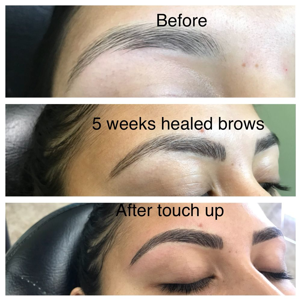 A Complete Brow Transformation Microblading By Laxmi Yelp