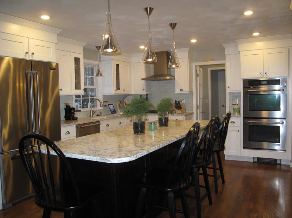 This Cranston Ri Kitchen Features Pental Quartz In Serra Polished