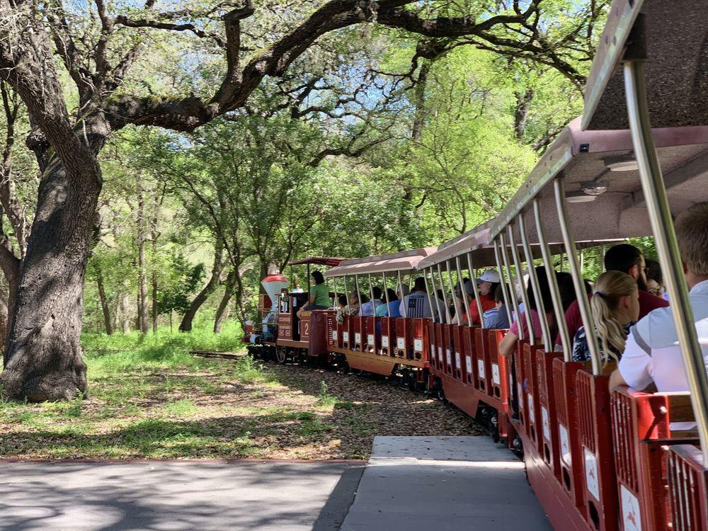 San Antonio Zoo Eagle Train Ride