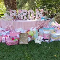 estate los angeles ca united states gift table for baby shower