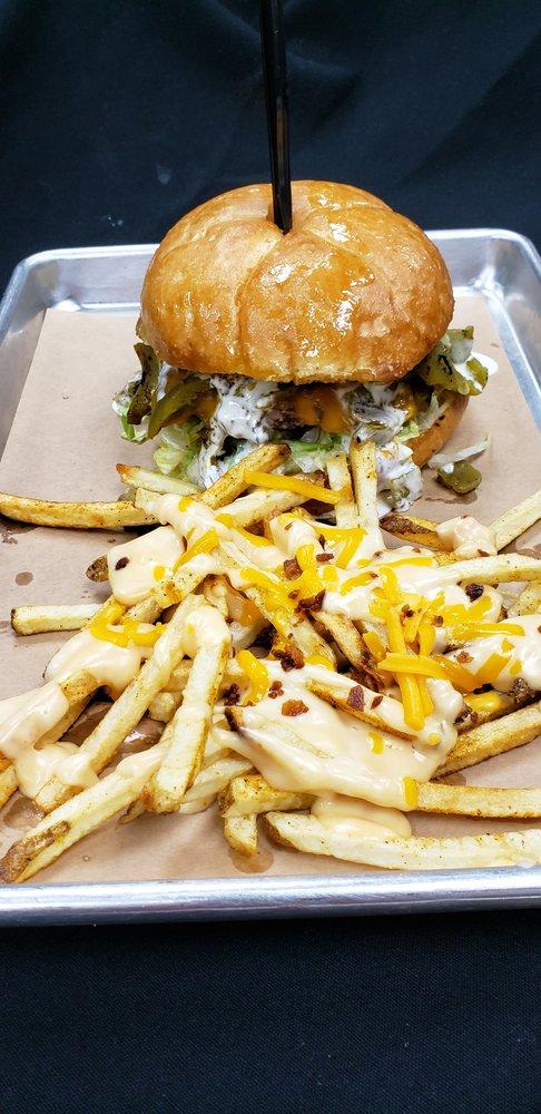 Burgers N Bones: 6805 Main St, The Colony, TX