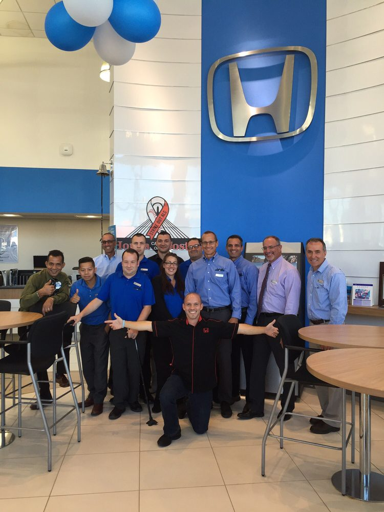 Great group of sales professionals yelp for Honda cars of boston everett ma