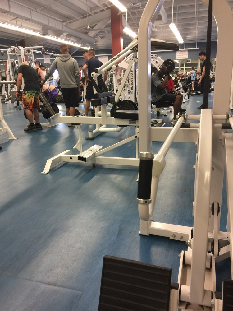 NAS JRB Fitness Center: 400 Russell Ave, Belle Chasse, LA