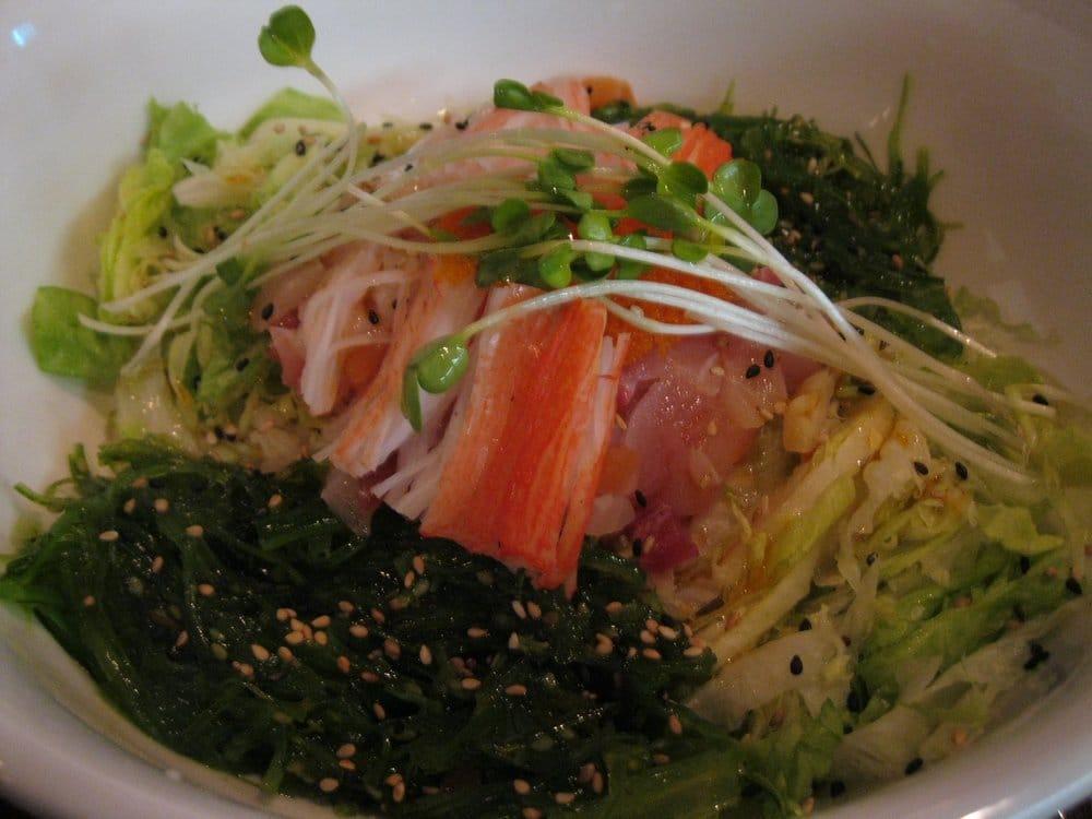 Hae dupp bap spicy various types of sashimi served with - Shogun japanese cuisine ...