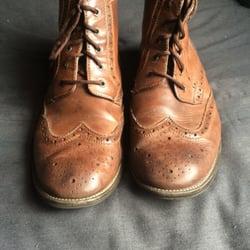 Photo of Mario Rossi Shoe Repair - Somerville, NJ, United States. Fixed up