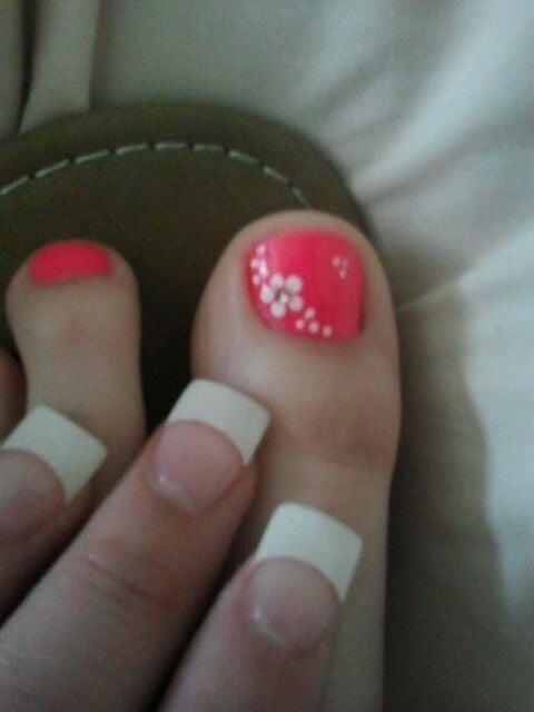 White Tip Toe Nail Designs Hireability