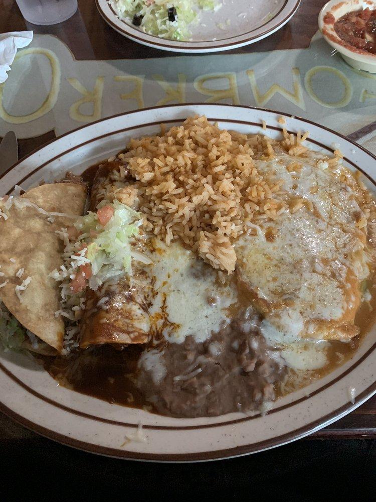 Don Sombrero Mexican Restaurant: 4107 Lake Isabella Blvd, Bodfish, CA