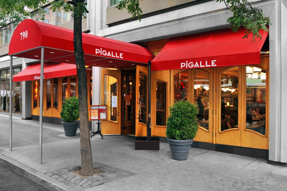 Pigalle Is Adjacent To The Hotel Located On The Corner Of 48th Street Yelp
