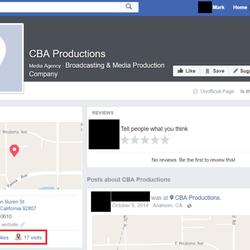 Cba Productions - 1240 N Van Buren St, Anaheim, CA - 2019
