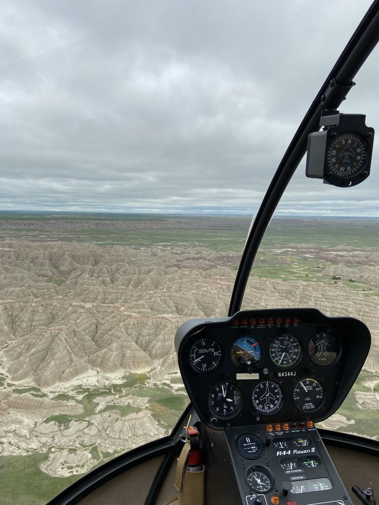 Badlands Helicopter: Sd Hwy 240, Interior, SD