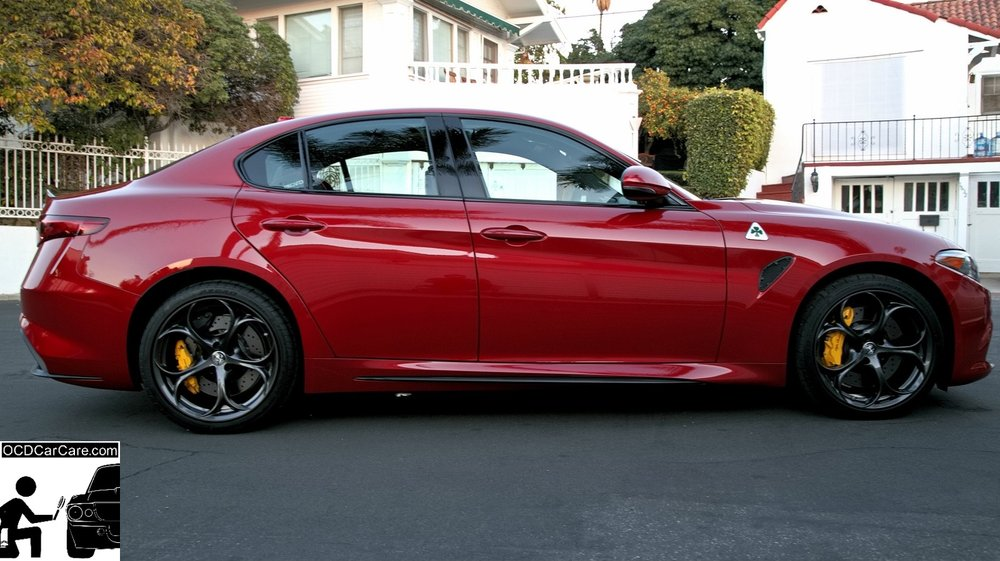 Alfa Romeo Los Angeles >> Side View Alfa Romeo Giulia Quadrifoglio Perfect Reflections From