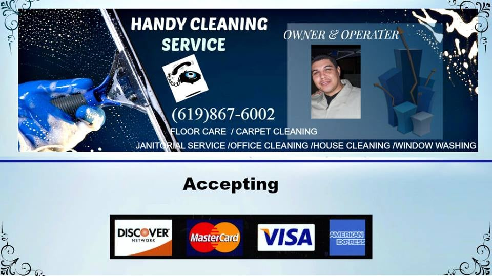 Handyman Cleaning Services has provided links or pointers to other web sites, no inference or assumption should be made and no representation should be implied that Handyman Cleaning Services is connected with, operates or controls these websites.