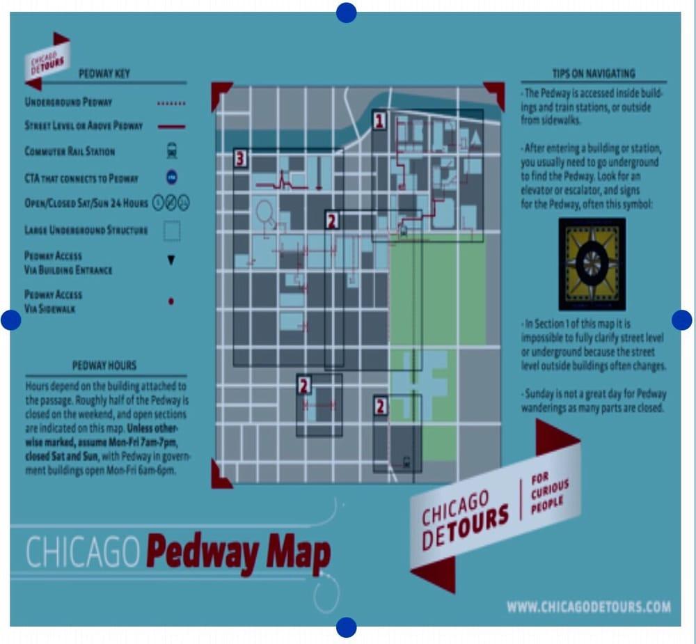 Pedway Map 1 - Yelp on