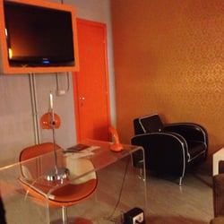 Photo Of Orange Hotel   Rome, Roma, Italy. Small Lobby Which Looks Welcoming