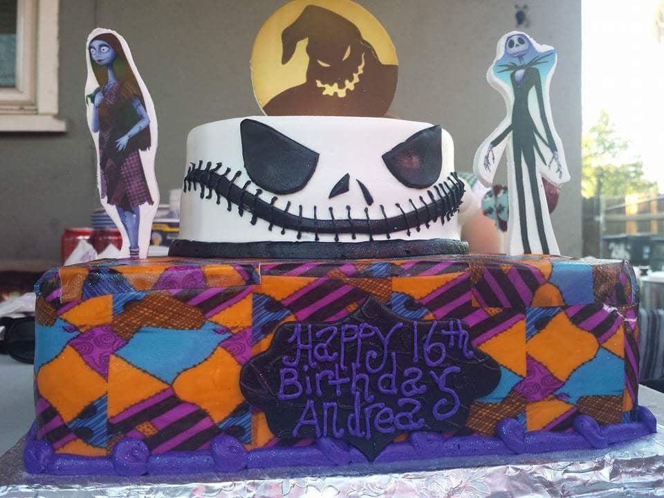 My Daughter Sweet 16 Birthday Cake Nightmare Before Christmas Yelp