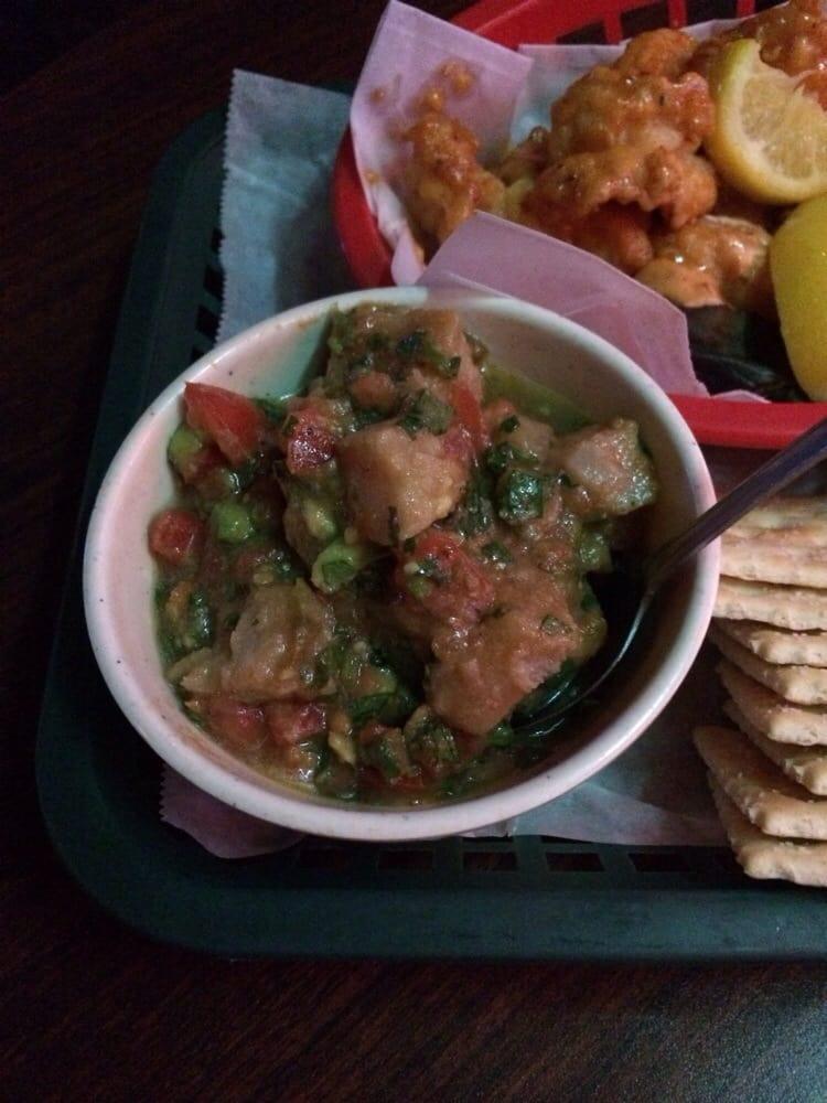 Ahi tuna ceviche yelp for Tin can fish house