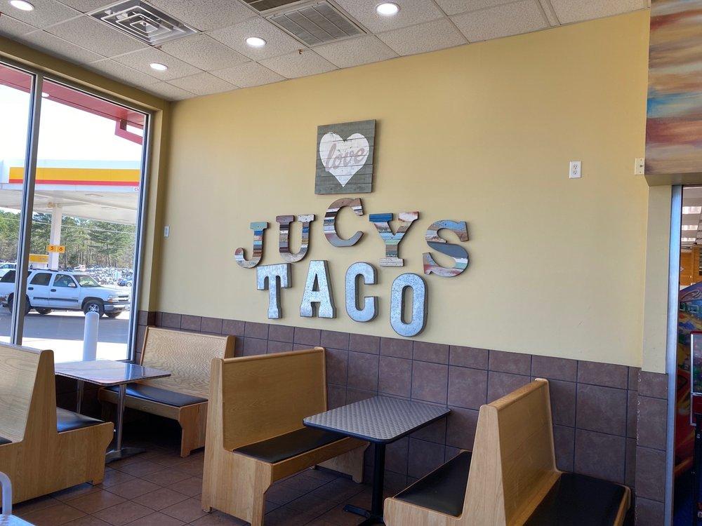 Food from Jucys Taco