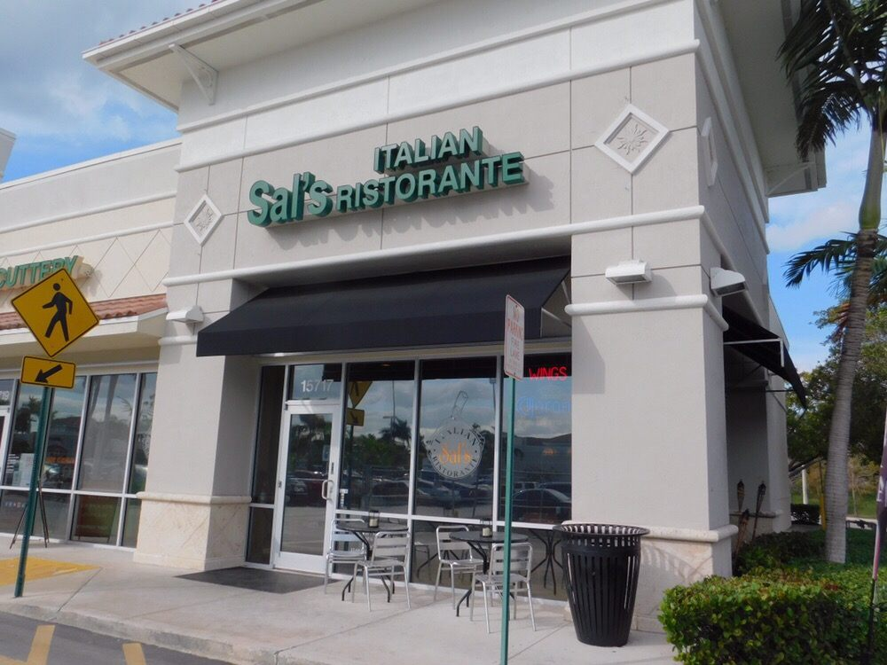 Sal Italian Restaurant Pembroke Pines Fl