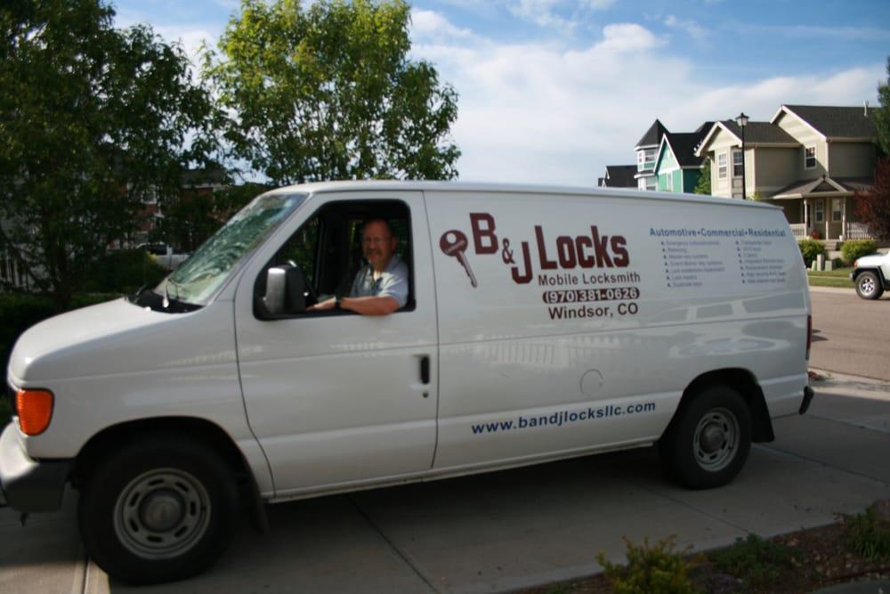 B & J Locks: 1298 Main St, Windsor, CO