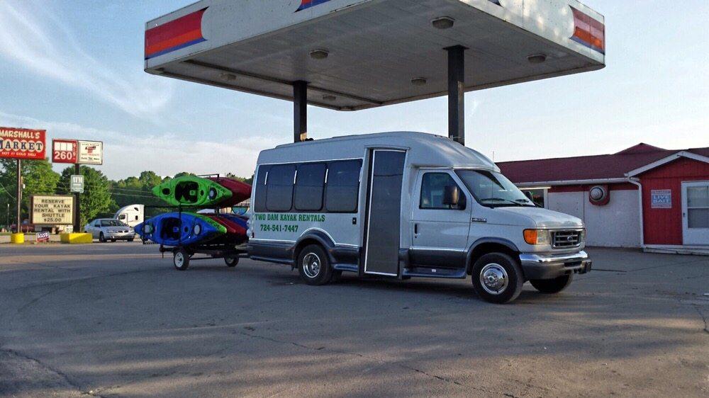 Two Dam Kayak Rentals: 3253 State Route 981, Saltsburg, PA