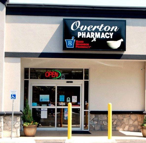 Overton Pharmacy: 104 West Henderson Street, Overton, TX