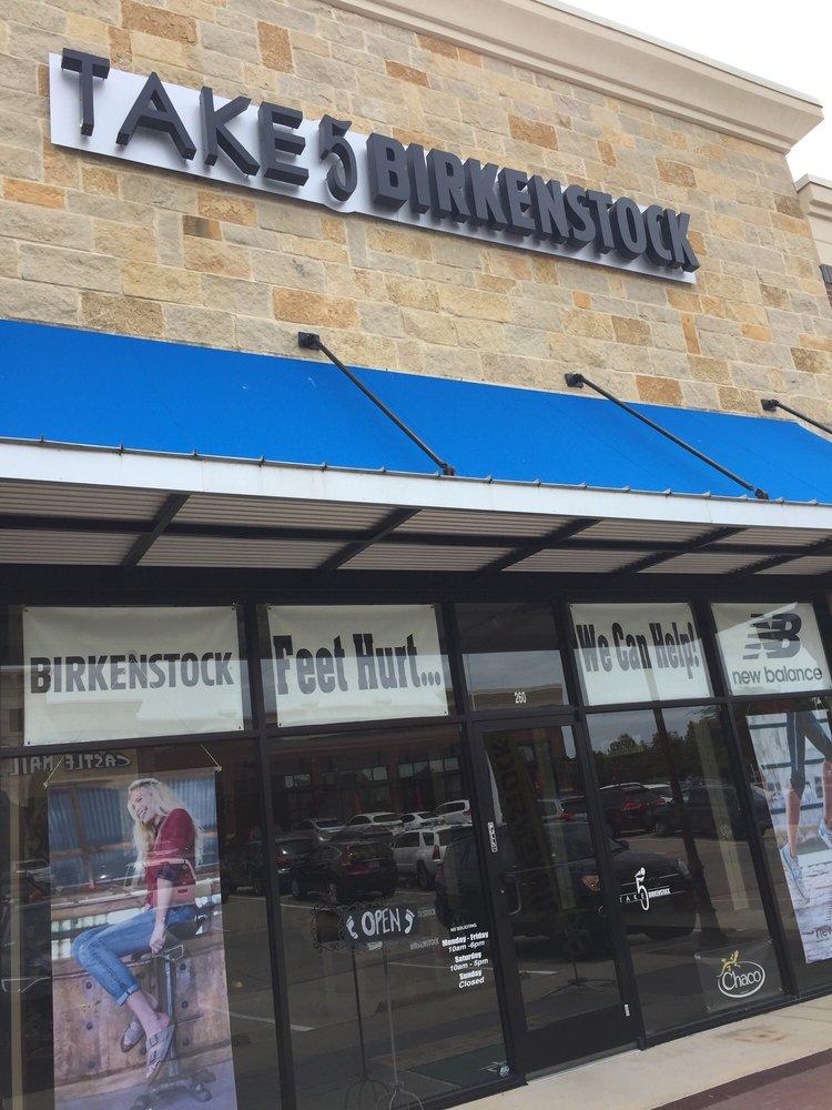 Take 5 Birkenstock: 5509 Colleyville Blvd, Colleyville, TX
