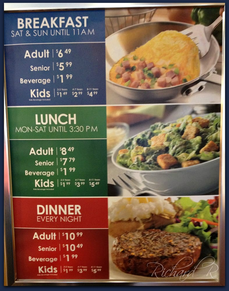 photos for old country buffet menu yelp rh yelp com country buffet prices colorado springs country buffet prices for lunch