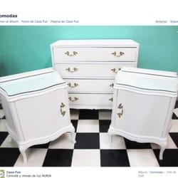 Casa fus muebles reciclados venta muebles antiguos con for Fotos muebles reciclados