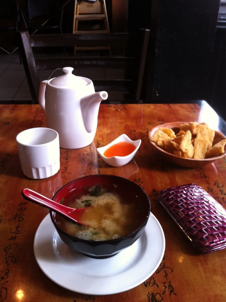 Miso soup and fried noodle yelp for Asian cuisine hoboken nj