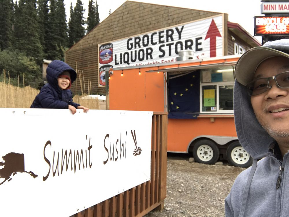 Summit Sushi: 238 George Parks Hwy, Healy, AK