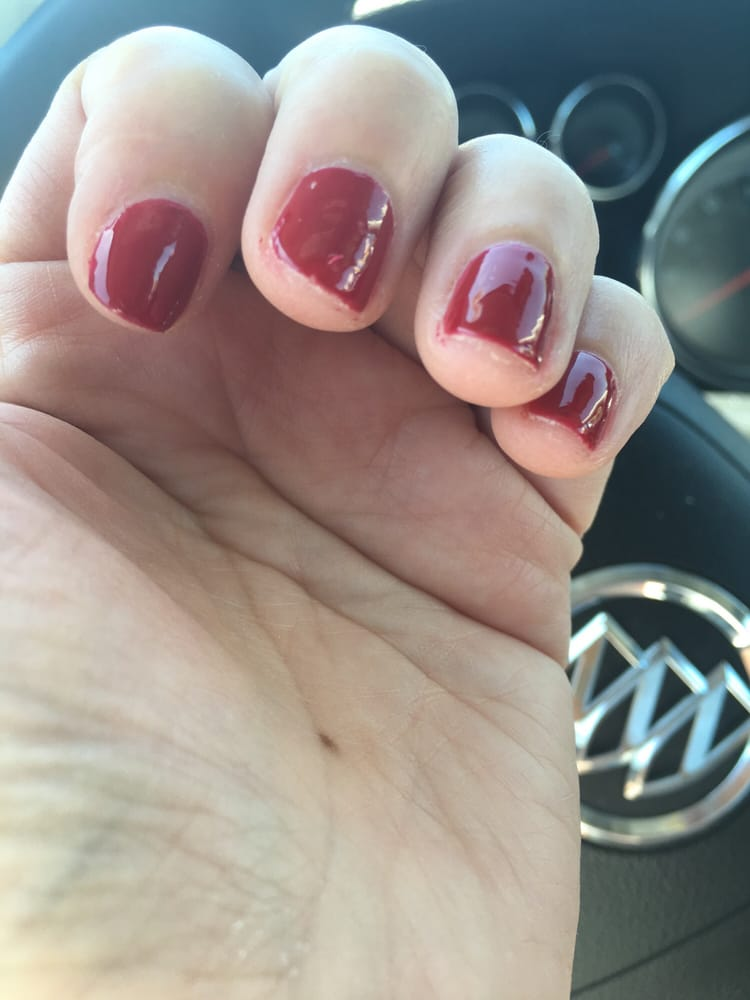Basic Manicure Nail Care Routine: This Was The Result Of A Basic Manicure. If You Can't Do A