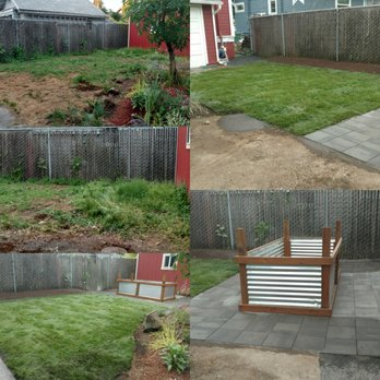 Photo Of Ju0027s Custom Landscaping   Vancouver, WA, United States. Before And  After