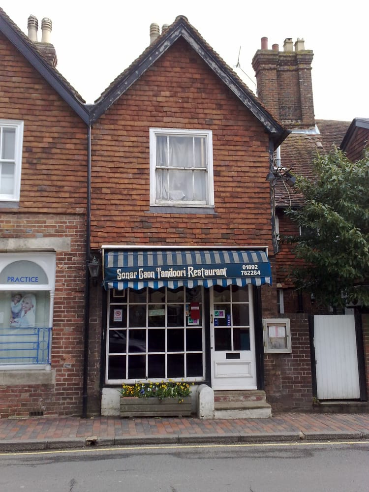 Sonar Gaon Indian Restaurant Wadhurst East Sussex