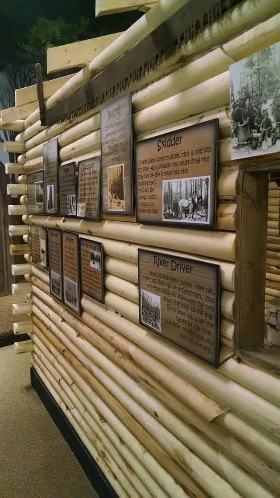The Sawmill Museum: 2231 Grant St, Clinton, IA