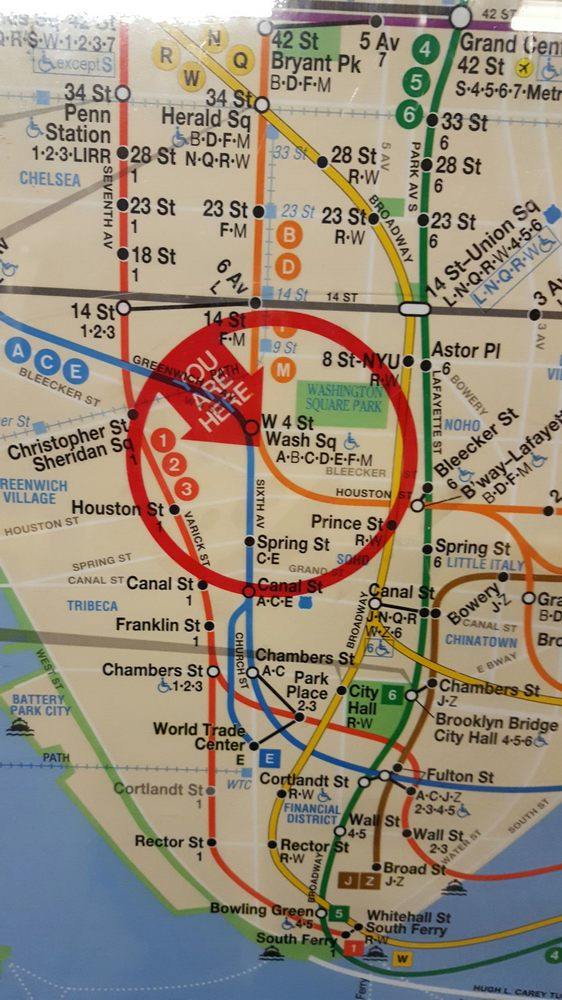 Chelsea Subway Map.Subway Map Very Useful Yelp