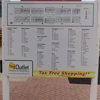 The Outlet Shoppes Photos Reviews Outlet Stores - Gettysburg pa in us map