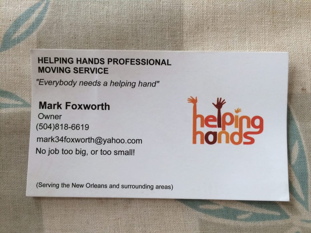 Helping Hands Professional Moving Service
