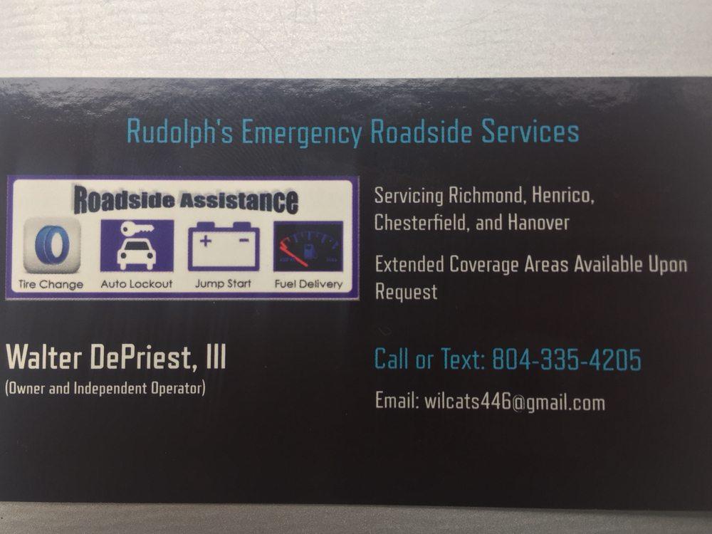 Rudolph's Emergency Roadside Services: Richmond, VA