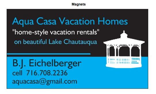 Aqua Casa Vacation Homes: 5959 Hidden Valley Rd, Mayville, NY
