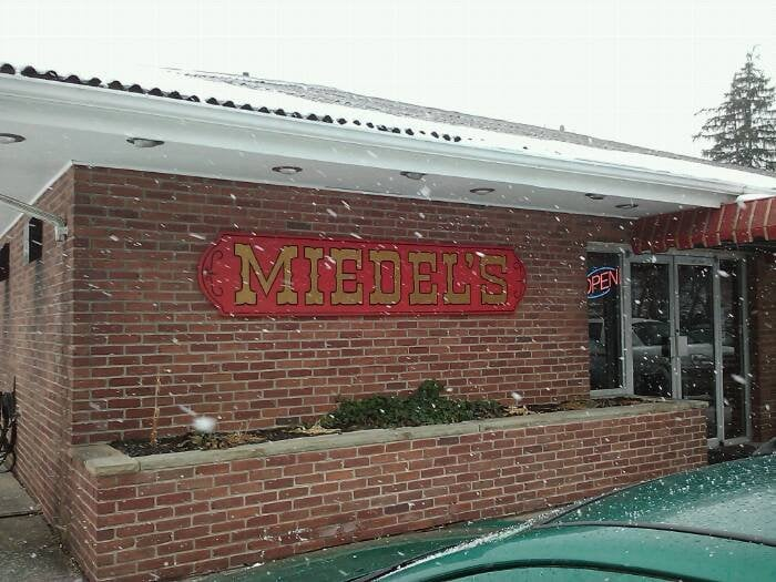 Miedel's Restaurant: 1701 Buttermore Blvd, Connellsville, PA