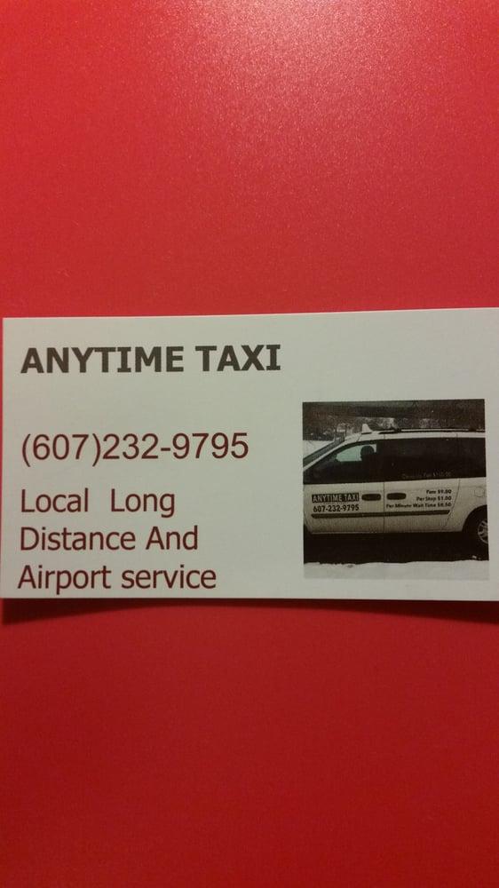 Anytime Taxi: Binghamton, NY