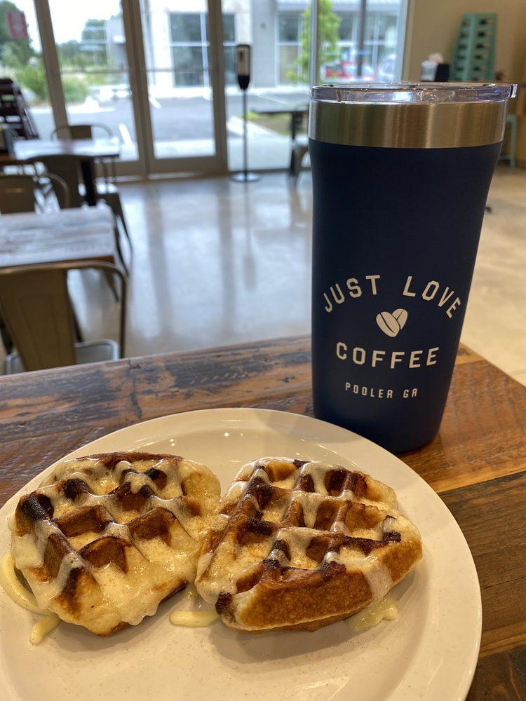 Just Love Coffee Cafe: 1 Godley Station Blvd, Pooler, GA