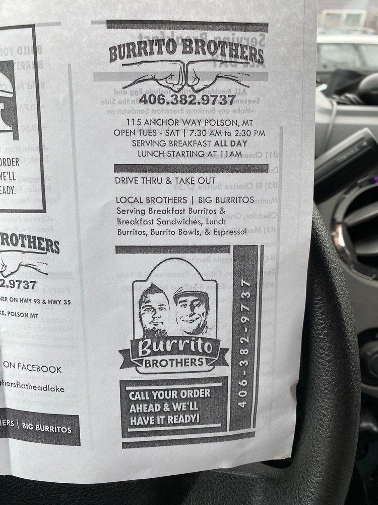 Burrito Brothers: 115 Anchor Way, Polson, MT