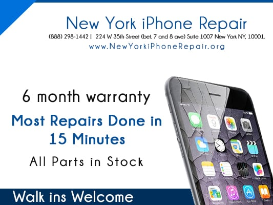 iphone repair nyc new york iphone repair 閉店中 電化製品修理 224 w 35th st 3245