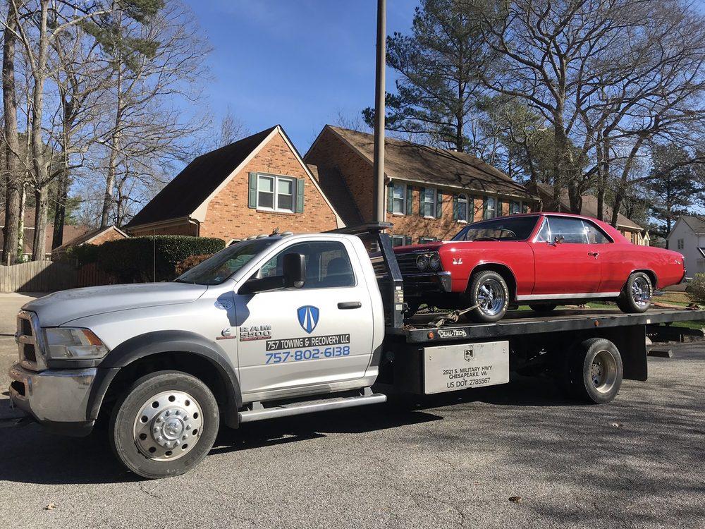 Towing business in Chesapeake, VA
